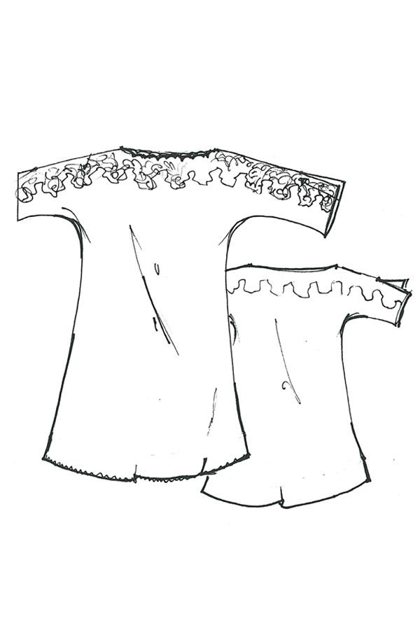Camicia da notte Lilly