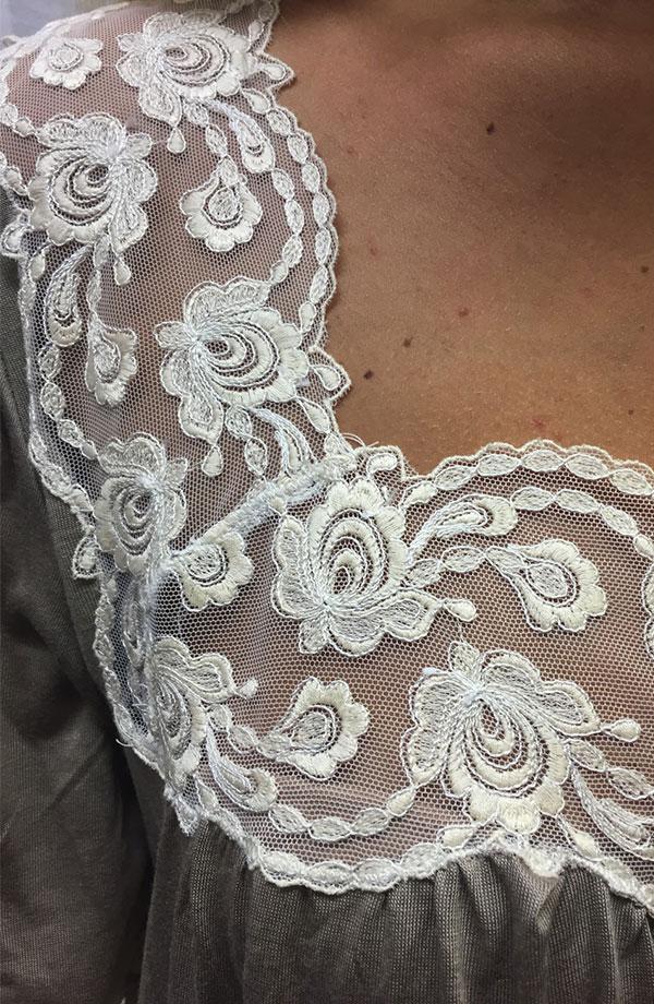 Camicia da notte manica corta Jane