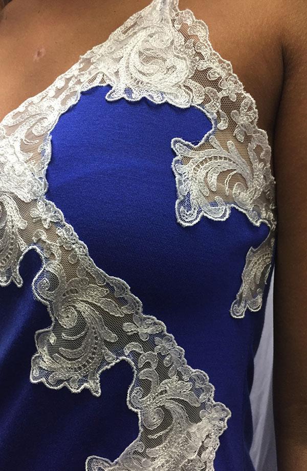 Camicia da notte spallina sottile Laureen