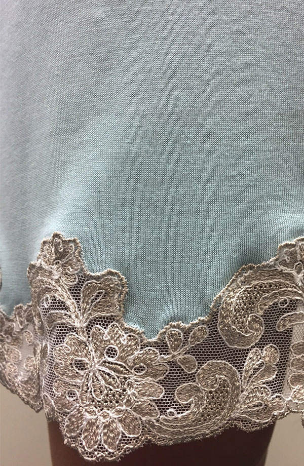 Camicia da notte spallina sottile Marta
