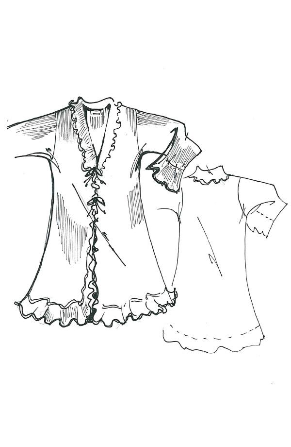 Vestaglietta in lana Laura