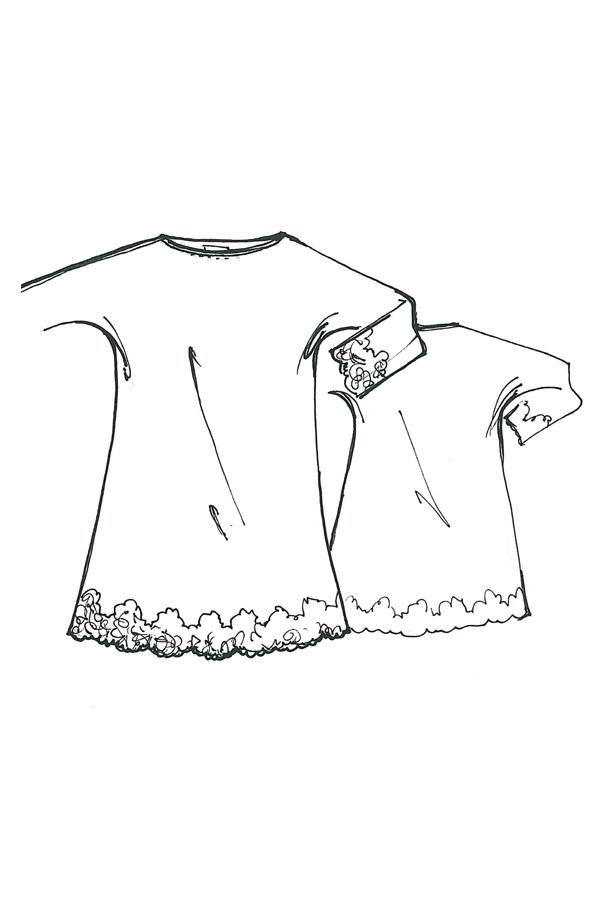 Camicia da notte manica lunga Lola